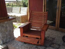 lazy boy chair recycling into functional outdoor furniture