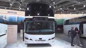 neoplan skyliner double decker bus 2017 exterior and interior in
