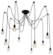 Artsy Chandeliers 10 Light Iron Chandelier Contemporary Chandeliers By Parrotuncle