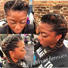 images of french braid hair on black women 31 goddess braids hairstyles for black women goddess braid