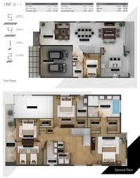 modern doral floor plans