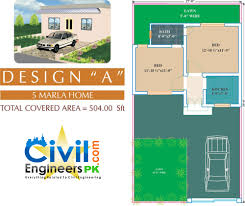 6 marla house plan a civil engineers pk