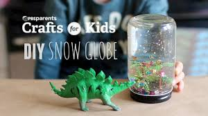 diy snow globe crafts for kids pbs parents youtube