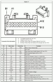 2003 chevy cavalier radio wiring diagram tamahuproject org