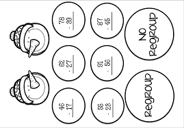subtraction w regrouping