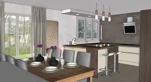 ouverture cuisine sur sejour solutions cuisine intérieur solutions design