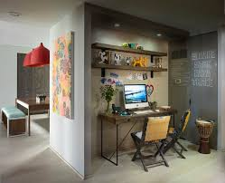 Eclectic Home Decor Ideas Rustic Shelves Mode New York Eclectic Home Office Decorating Ideas