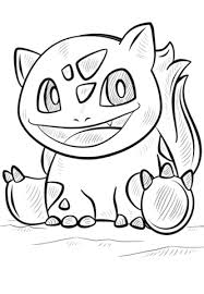 bulbasaur pokemon coloring free printable coloring pages