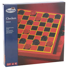 pavilion checkers classic board game toys