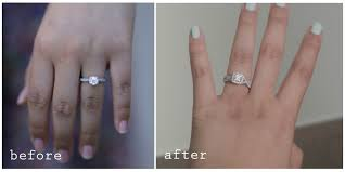 Does The Wedding Band Go Before The Engagement Ring by Wedding Ring Before Enement Ring Wedding Rings