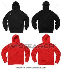 stock image of blank hoodie sweatshirts k7529475 search stock