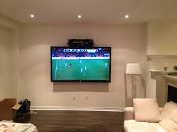 Tv Wall Mount With Built In Shelf Hang Tv On Wall Loctek View In Gallery Image Result For Ideas
