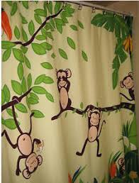 Jungle Curtains For Nursery Monkey Curtains Home Design Ideas And Pictures