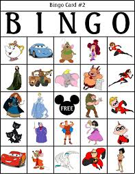 robbygurl u0027s creations printable disney bingo cards tons of