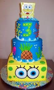 spongebob cake ideas spongebob birthday cake two tiered fondant spongebob cake used