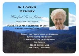 funeral service announcement wording 27 funeral invitation templates free sle exle format