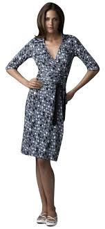 dvf wrap dress diane furstenberg blue dvf wrap navy white silk jersey