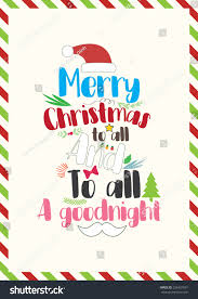 quote merry all all stock vector 526431001