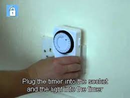 24 hr timer light switch 24 hour timer switch youtube