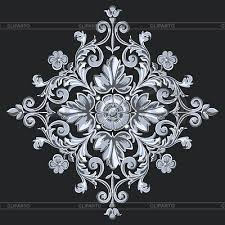 ornamental patterns serie of high quality graphics cliparto