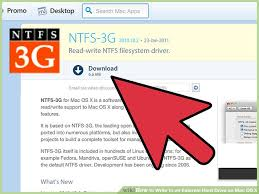 format hard drive to ntfs on mac how to write to an external hard drive on mac os x 15 steps