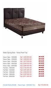 Ranjang Procella harga matto bed harga bed termurah di indonesia