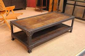 Rustic Coffee Table On Wheels Industrial Style Coffee Table Medicaldigest Co