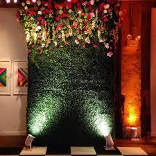 wedding backdrop garland ascent your wedding reception with flower garland ideas