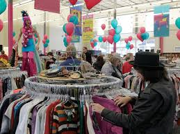 guiding light flea market thrift store columbus oh how artists and the lgbtq community made wearing trash cool arts