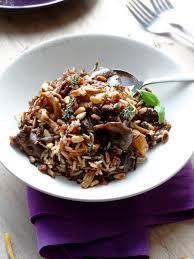 comment cuisiner des girolles fraiches pilaf de riz sauvage aux chanterelles et girolles épices moi
