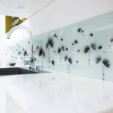 credence en verre tremp pour cuisine cr dence cuisine adh sive sur mesure verre tremp en pour