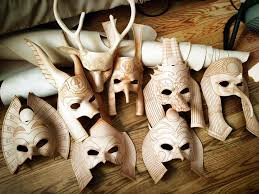 leather mask leather masks wip pre paint by b3designsllc on deviantart
