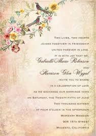 Wording Wedding Invitations Wedding Invitation Text Rectangle Cream Vintage Classic Awesome