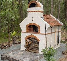 Brick Oven Backyard by The Brick Bake Oven Page