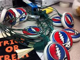 my new christmas lights for next year all year gratefuldead