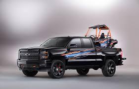 chevy concept truck dirt wheels magazine silverado polaris ace concept ready for