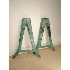antique metal table legs vintage industrial table legs cast iron metal leg pair regarding