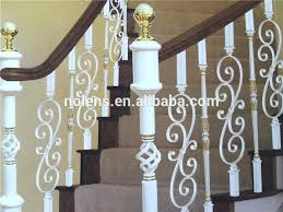 Iron Grill Design For Stairs Wrought Iron Stair Railing Designs Southeastern Ornamental Works