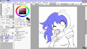 how to use the magic wand paint tool sai youtube