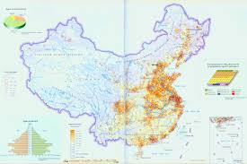 Chongqing China Map by Map Of China Population Distribution China Travel Map