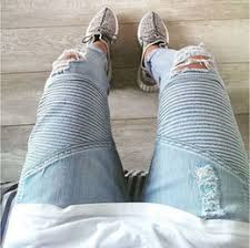 Ripped Denim Jeans For Men Grey Ripped Jeans Online Grey Ripped Skinny Jeans For Sale