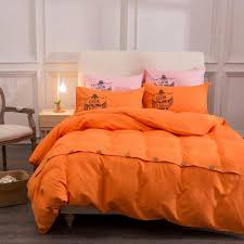 solid color bedding sets with button reactive printing 4pcs queen