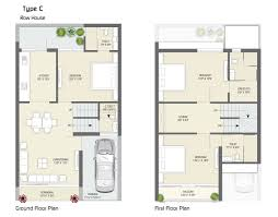 Bungalow Ground Floor Plan by Saket Realty