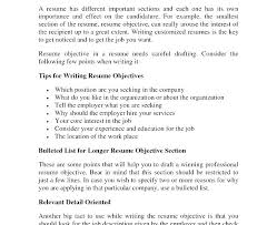 effective resumes tips verbs resumes writing objectives effective resume