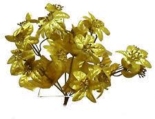 Fake Wedding Flowers Gold Silk Wedding Flowers Ebay