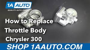 how to replace install throttle body 2006 chrysler 300 buy quality