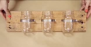 easy diy projects for home decor diy mason jar wall organizer teen diy mason jar projects and