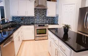 Lovable Kitchen Backsplash Ideas Black Granite Countertops Chosing