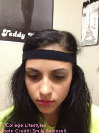 headbands that go across your forehead musely