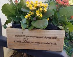 personalized flower pot personalized planter etsy